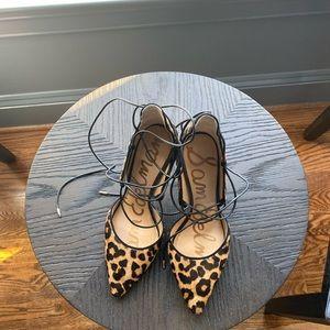 Leapard heels